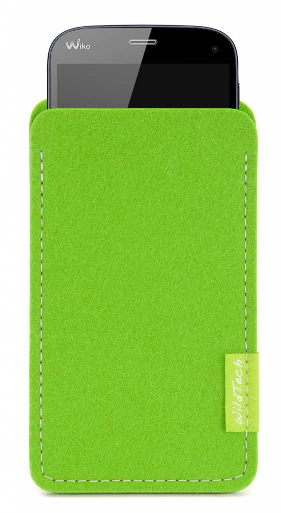 Smartphone Sleeve Bright-Green-1