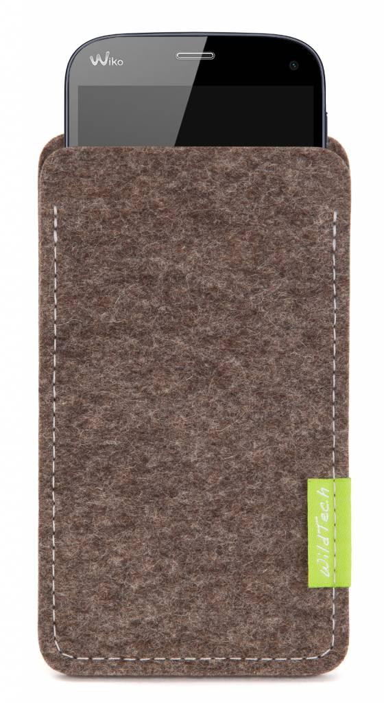 Smartphone Sleeve Natur-Meliert-1