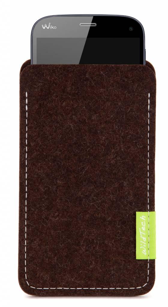 Smartphone Sleeve Truffle-Brown-1