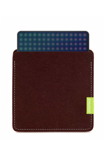 Lightpad Block Sleeve Dunkelbraun