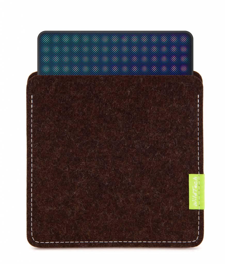 Lightpad Block Sleeve Trüffelbraun-1