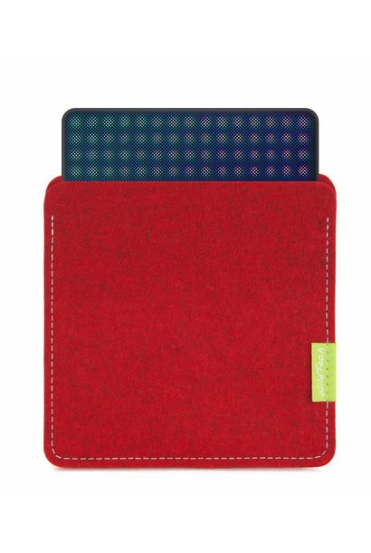 Lightpad Block Sleeve Kirschrot
