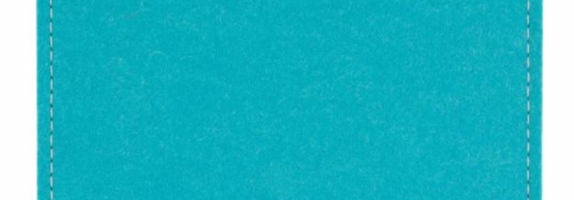 Pad/Tab Sleeve Turquoise