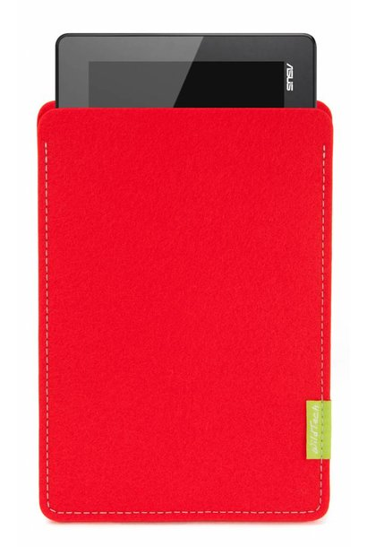 Pad/Tab Sleeve Bright-Red