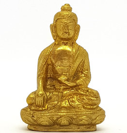 Buddha Statue klein Messing