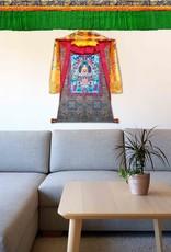 Shambu Tibetischer Wand-und Deckenbehang, 4.8 Meter