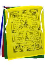 Tibetische Gebetsfahnen Kette, 1.3  Meter lang