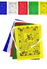 Tibetische Gebetsfahnen Kette, 80 cm