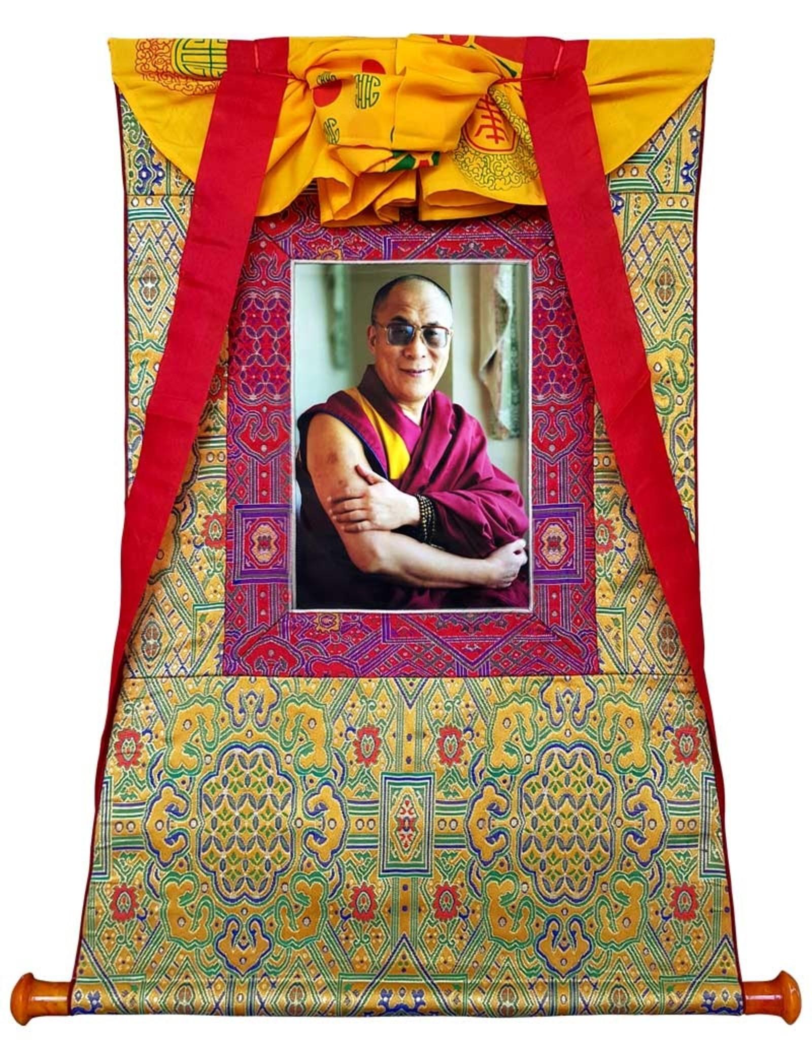 Tibetisches Thangka Dalai Lama