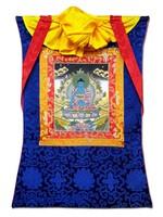 Tibetisches Thangka Medizin Buddha