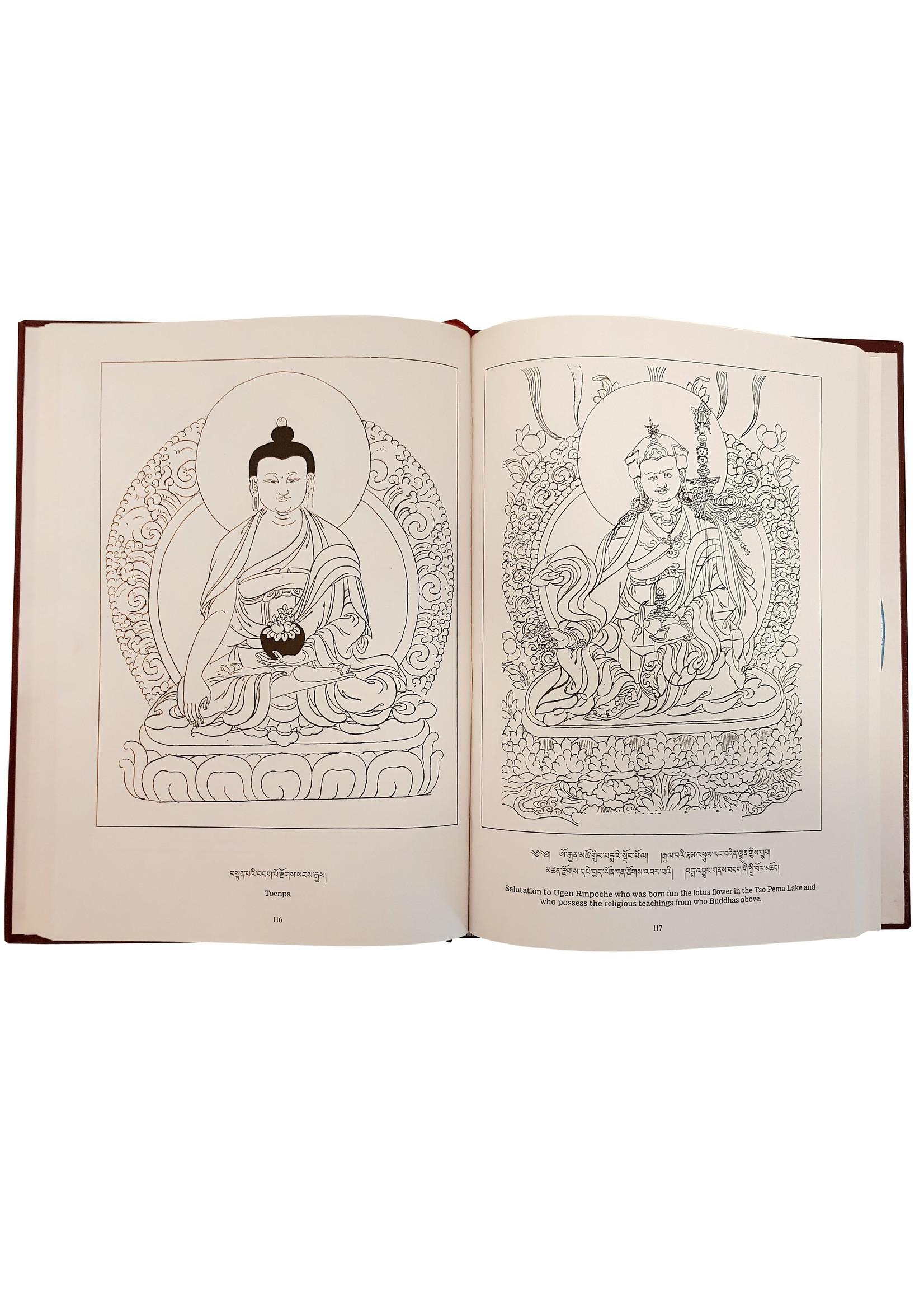 Das tibetische Buch für Thanka Malarei gemäss Tsang-Pa Tradition des Tibets