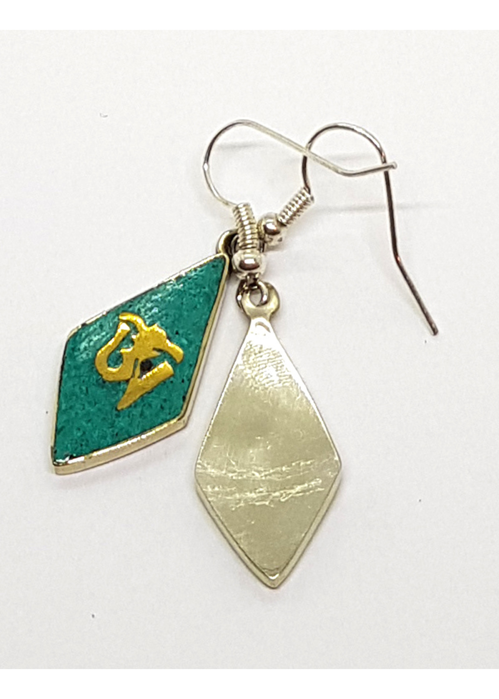 Tibetischer Ohrhänger OM