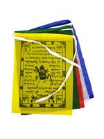 Tibetische Gebetsfahnen Klein, Baumwolle, 1 Meter