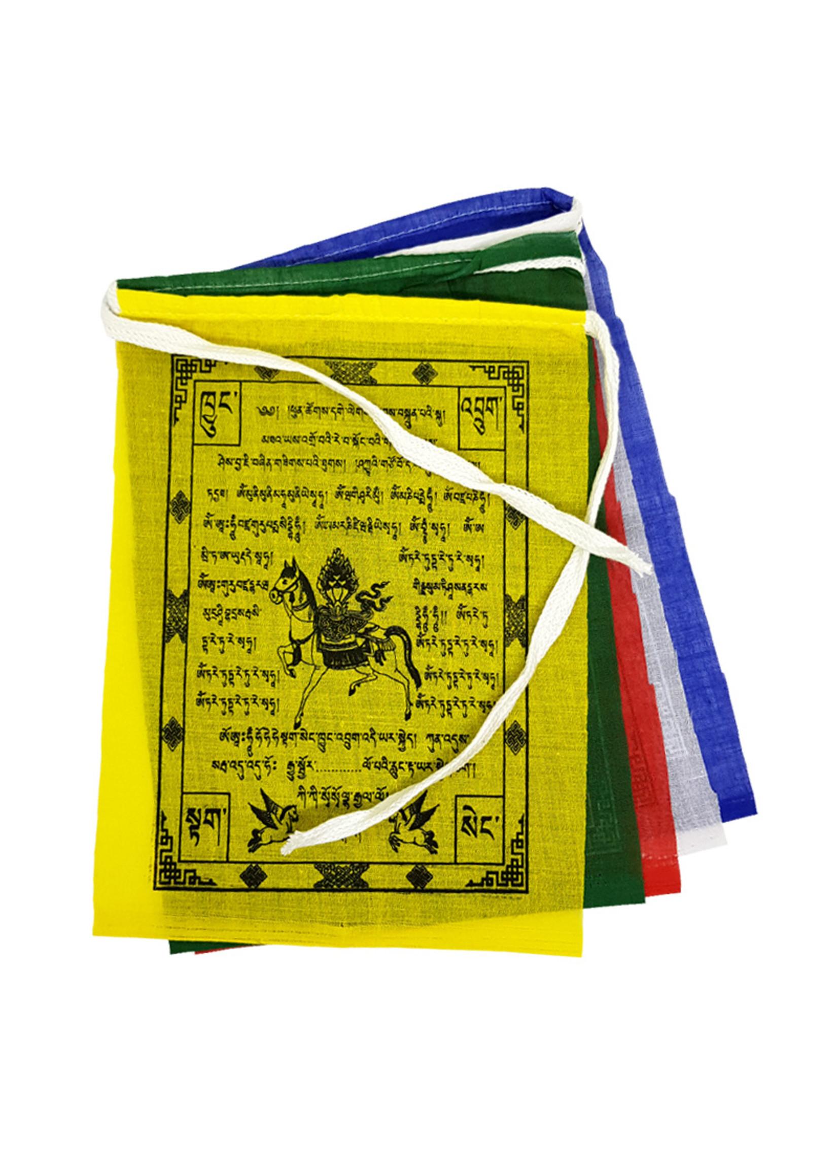 Tibetische Gebetsfahnen Klein, Baumwolle