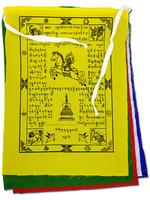Tibetische Gebetsfahnen Gross, Polyester, 1.5 Meter