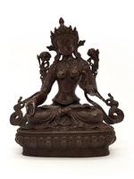 Weisse Tara Statue