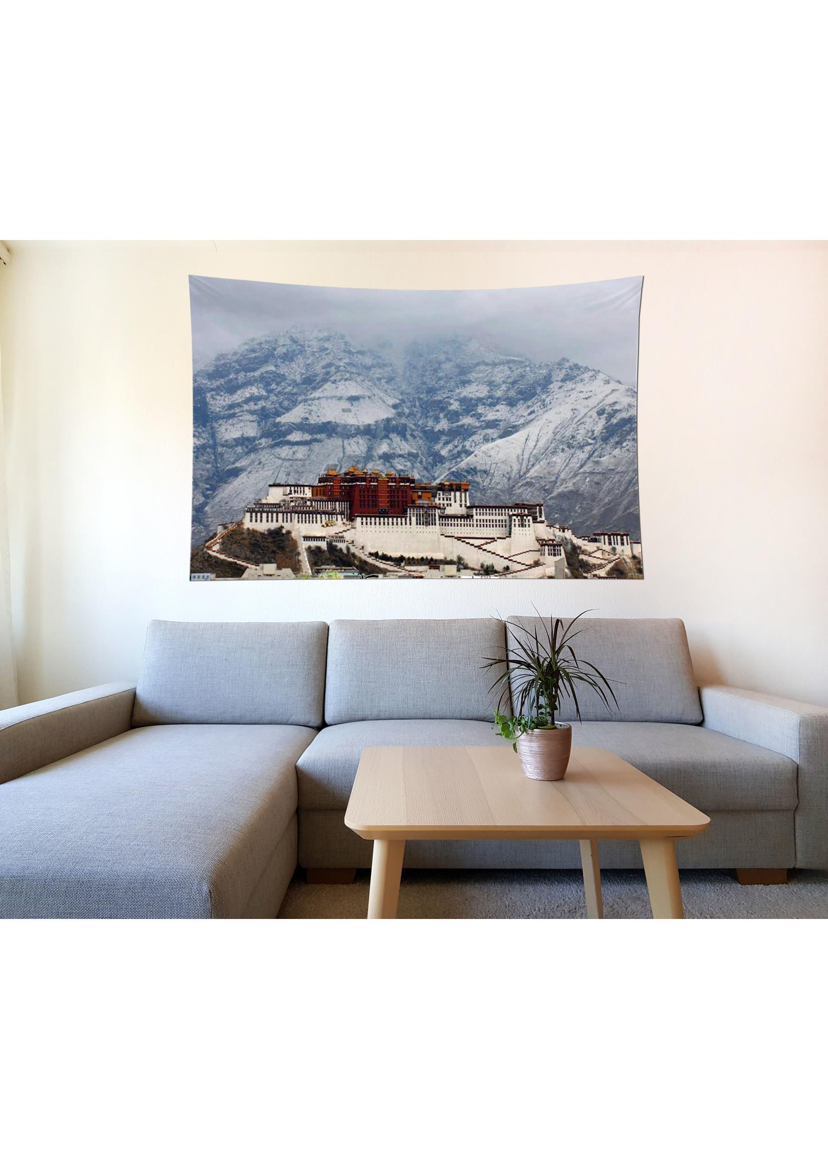 Wandtuch Potala Palast Winter, 200 x 150 cm