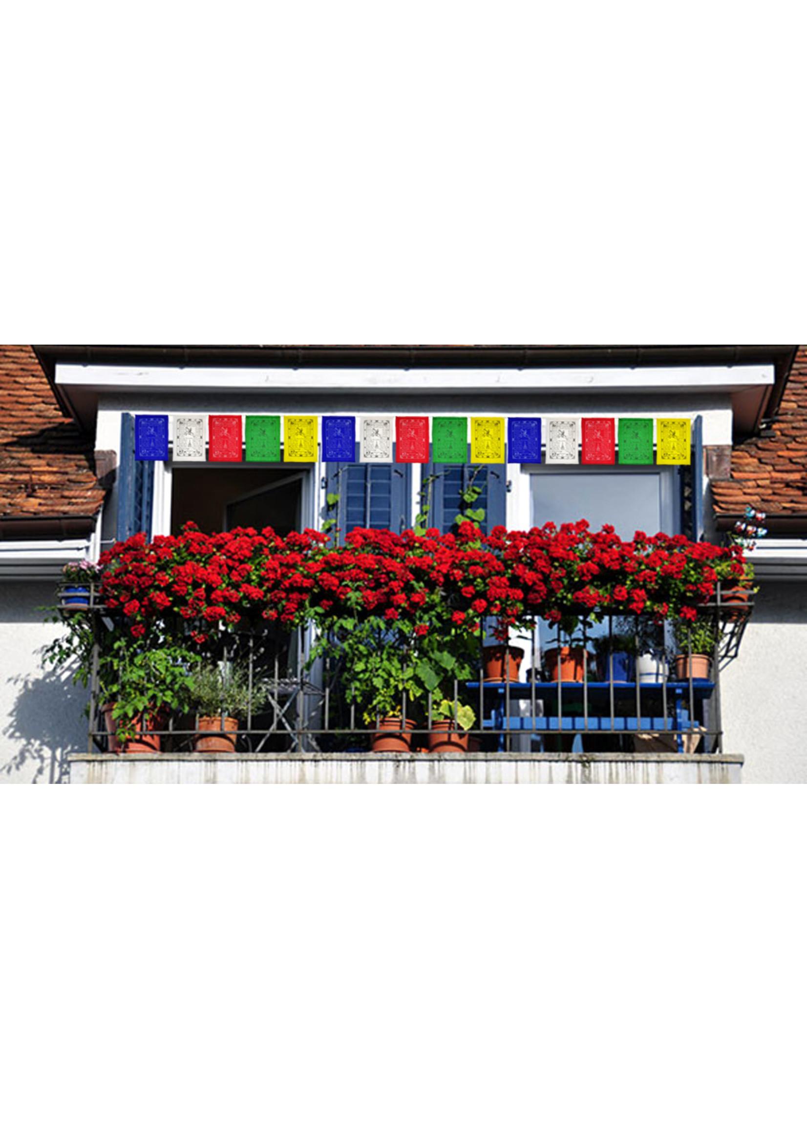 Tibetische Gebetsfahnen Mittel, Baumwolle