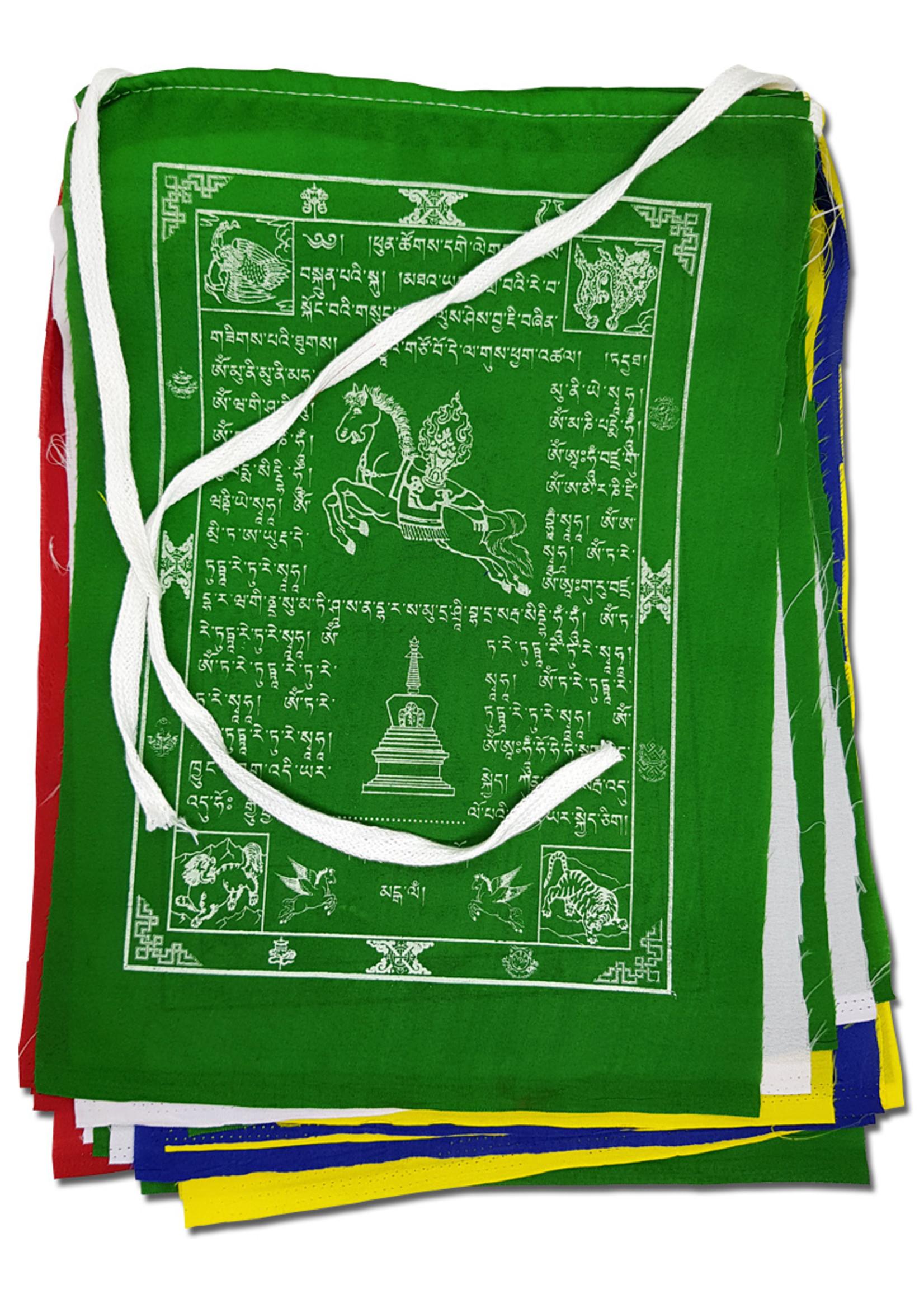 Tibetische Gebetsfahnen Gross, Polyester