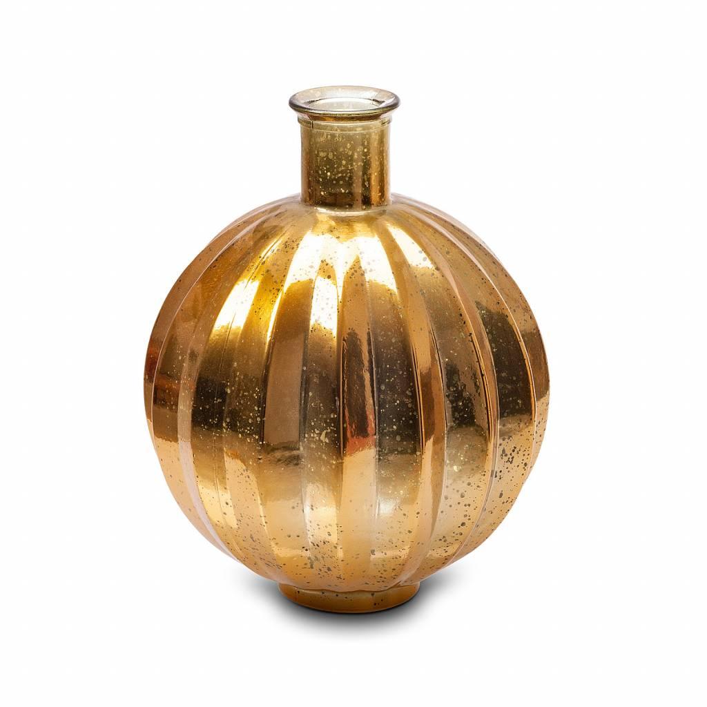 "black and gold Vase ""Ballon"""