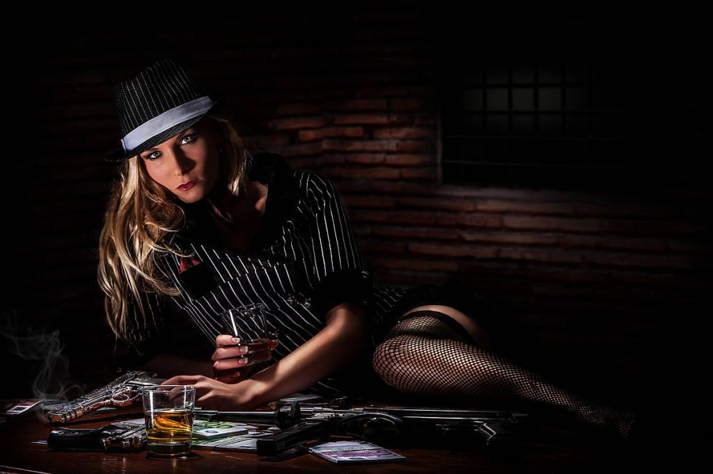 Werbe-/Produktfotograf Marcel Mende Gangsterbraut