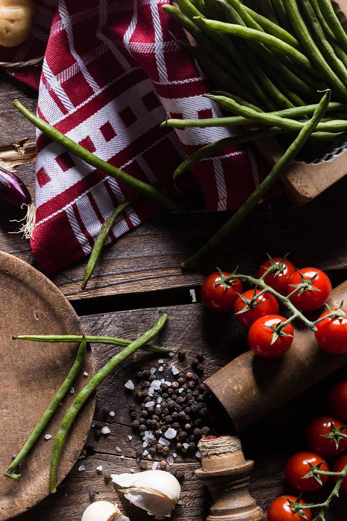 Werbe-/Produktfotograf Marcel Mende Bohnen & Tomaten