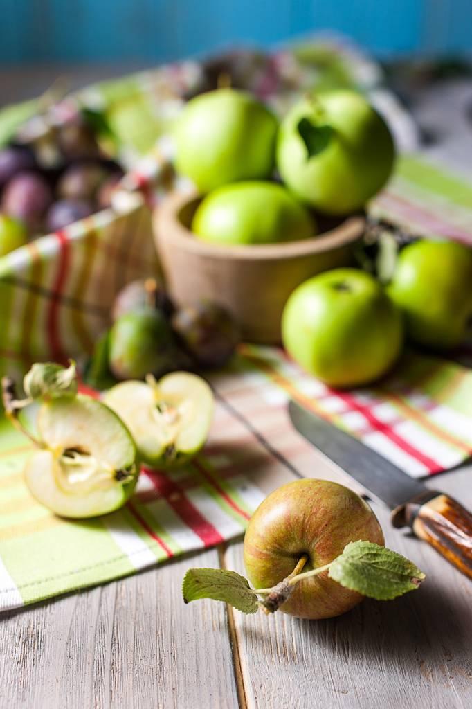 Werbe-/Produktfotograf Marcel Mende Äpfel & Pflaumen