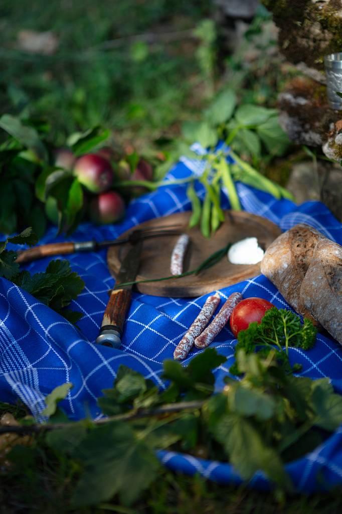 Werbe-/Produktfotograf Marcel Mende Frühstück im Garten