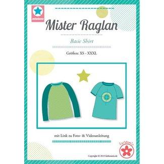 Farbenmix Patroon Mister Raglan