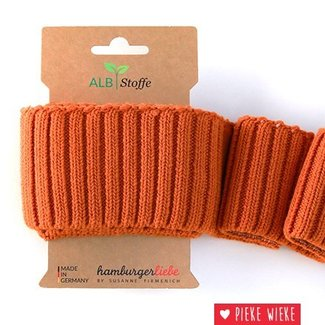 Albstoffe Cuff Me Cozy Nepal orange