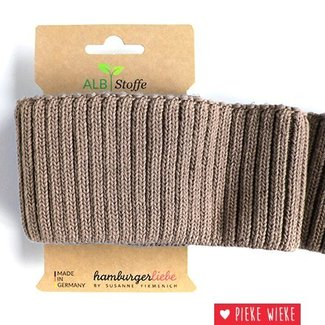 Albstoffe Cuff Me Cozy Sand brown