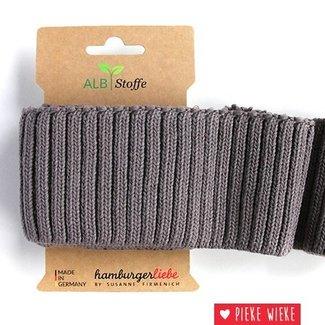 Albstoffe Cuff Me Cozy Carbon gray
