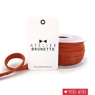 Atelier Brunette Crepe piping Chestnut