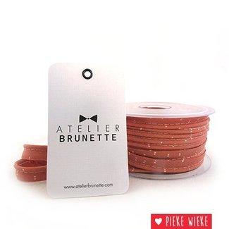 Atelier Brunette Crêpe paspel Sparkle melba gold