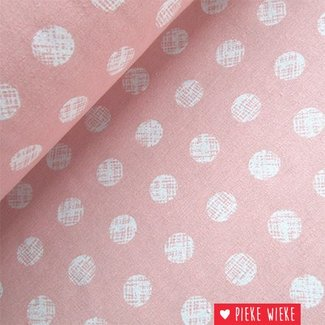 Canvas Dot pink