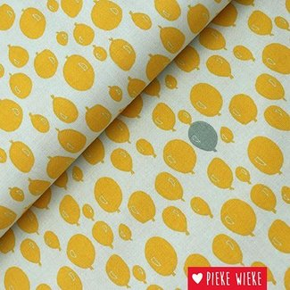 Trixie Baby Katoen Balonnen geel