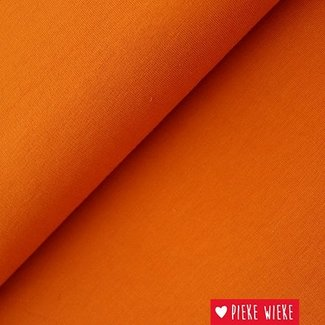 Lillestoff Summer sweat Solid Warm orange