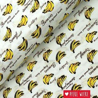 Cotton bananas white