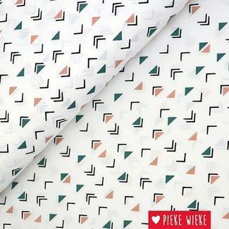 Katoen popline Triangles