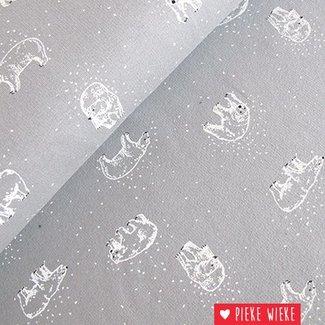 Poppy Sweat Icebears Gray