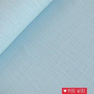 Viscose linen Light blue