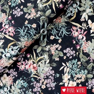 Cotton viscose flowers