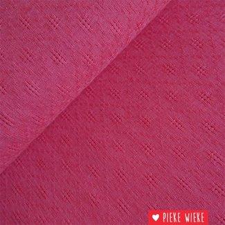 Uni ajour rosy red