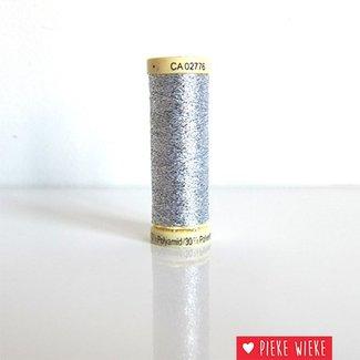 Gütermann Metallic thread silver 50m