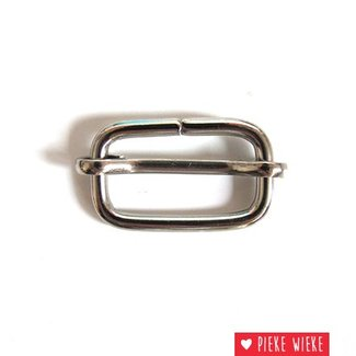 Slide buckle 25 mm nickel metal