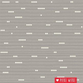 Birch Fabrics Katoen Mod basic Grijs