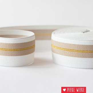 See You at Six Elastic waistband Golden lines 50mm