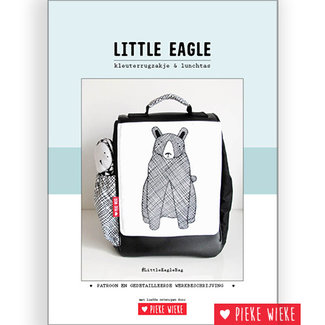 Pieke Wieke Little Eagle bag digital pattern (Dutch)