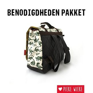 Pieke Wieke Interfacing package Big Hawk Schoolbag