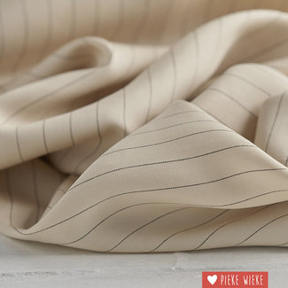 meetMilk Tencel pinstripe Ivory